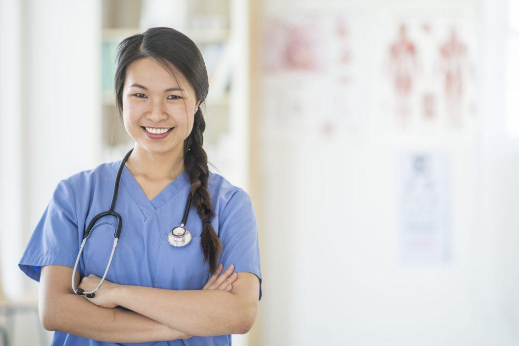 nurse at hospital